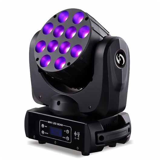 LED WASH 12-10W RGBW